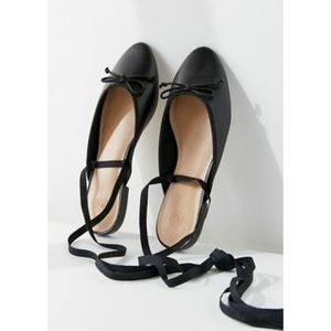 SALE NWT Urban Outfitters Black Ballet Mule, Sz 8